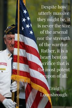 While we tediously check our weaponry before entering into battle, do we check our hearts?  For without exception, that is the greatest weapon of all.  Wishing you a blessed and reflective Memorial Day celebration.