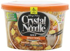 Crystal Noodle Soup, Spicy Tofu, 2.4 Ounce (Pack of 6) ** Visit the image link more details.