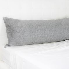 Perfect Grey Body Pillow Cover & Sweet JoJo Designs Minky Full Length Double Zippered Body Pillow ... pillowsntoast.com