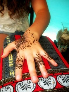 Festival henna style summer 2012 by Henna Trails, via Flickr