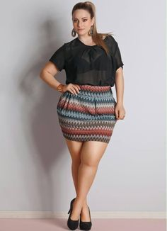 Most popular tags for this image include: curves and fashion. curvy girl ...