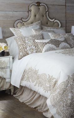 Bedroom Bed, Dream Bedroom, Bedroom Decor, Bedroom Ideas, Fantasy Bedroom, Teen Bedroom, French Country Bedrooms, Luxury Bedding Sets, Beautiful Bedrooms