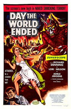 Albert Kallis - Day the World Ended (American Releasing Corp., 1956) One Sheet by Aeron Alfrey, via Flickr