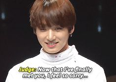 JungKookie's just laughing inside xD (1/6)