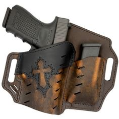 The Underground Premium Guardian w/ Mag Pouch - Arc Angel holster is similar to Underground Premium Guardian holster, except this has magazine storage.
