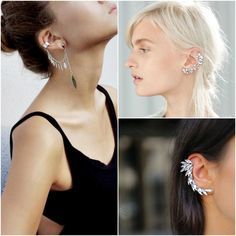 Ear cuffs #accessories #accessorize