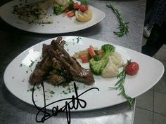 Lamb carrè...