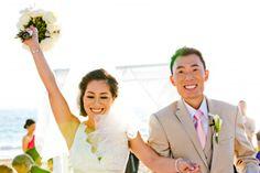 Beach Ceremony at The Sunset - Beach Weddings at The Sunset - Malibu, California - Photography: www.truephotographyweddings.com