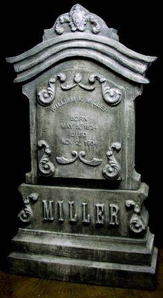 alloween tombstone inspiration
