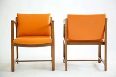Edward Wormley Armchairs   From a unique collection of antique and modern armchairs at https://www.1stdibs.com/furniture/seating/armchairs/