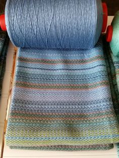Northern Lights- Handwoven Kitchen - Tea - Fingertip - Hand - Chef Towel - 100% cotton: absorbent, dense, colorful and fun