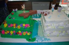 Tinkerbelle And Periwinkle Cake Tinkerbell Ideas