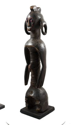 Old African Statue Gifts For Art Lovers, Lovers Art, African Wood Carvings, African Artwork, Inspirational Artwork, African Masks, African American Art, Tribal Art, Female Art