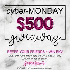 Refer A Friend Giveaway