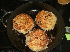 Galette de pommes de terre Rösti au thermomix. Voici une délicieuse recette de galette de pommes de terre Rösti, facile a préparer avec le thermomix.