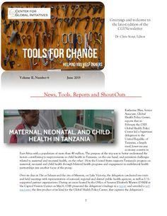 2015 June Tools for Change CGI Newsletter