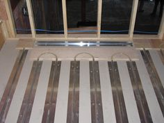 Radiant floor heating systems from Radiant Engineering Inc #thermofin #radiant #heated #floors