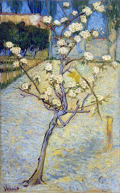 Ван Гог «Цветущая груша» +