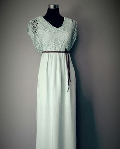Kaboo mint lace maxi.........only found in the Kaboo Studio