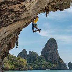 Life begins at the end of your comfort zone. Greece Islands, Climbers, Beautiful Islands, Rock Climbing, Comfort Zone, Mount Everest, Scenery, Mountains, Landscape