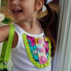 Embellished Tank for Toddlers {Pictured Instructions}
