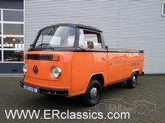 Volkswagen TRANSPORTER T2B Pick up 1975 gerestaureerd