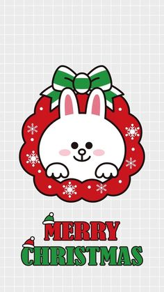 Merry chrismas Cony Brown, Brown Bear, Bunny And Bear, Lines Wallpaper, Brown Line, Holiday Wallpaper, Kawaii, Christmas Greetings, Merry Christmas