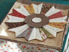 Split dresden block from: The Pattern Basket