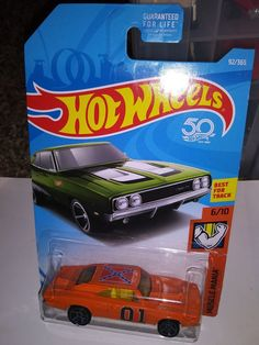 General Lee Dukes of Hazzard 69 Dodge Charger 500 custom Hot Wheels super cool 1 #HotWheels