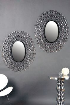 Another interesting DIY mirror