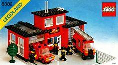 Original Lego fire station