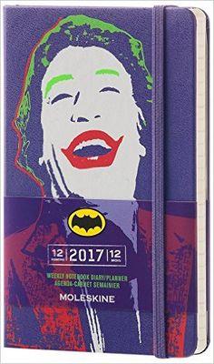Moleskine 2017 Batman Limited Edition Weekly Notebook, 12M, Pocket, Violet, Hard Cover (3.5 x 5.5): Moleskine: 8051272892918: Amazon.com: Books