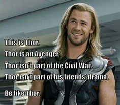 Thor's got family drama of his own to worry about...