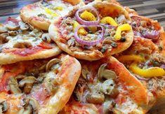 Vynikajúce mini pizze: Ponúkla som ich návšteve a každý sa hneď pýtal na recept.