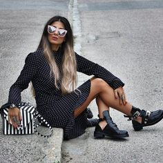 """Mi piace"": 4,552, commenti: 54 - STYLE BY NELLI (@stylebynelli) su Instagram: ""Life is for deep kisses, strange adventures & rambling conversations #stylebynelli #ootd #dress…"""