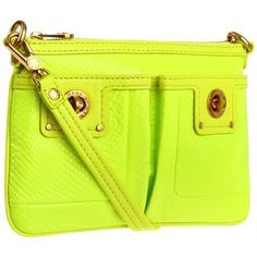 This neon clutch will definitely spice up your outfit!