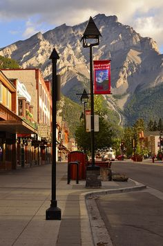 Pretty sure I took a pic at this exact spot in Banff, AB  last week!