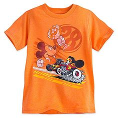 Disney Mickey Mouse Tee for Boys  Mickey and the Roadster Racers Size XXS 23456222553624 ** To view further for this item, visit the image link.