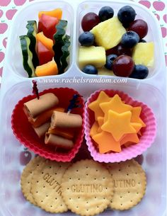 Back to School: Start Smart – Pack a Rainbow! #easylunchbox #bento