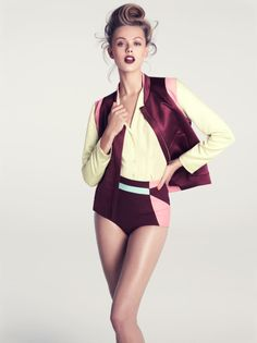 Sporty Summer – Frida Gustavsson models the summer 2012 collection from  fast fashion retailer 87dd5095b52