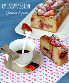 Cake yogurt e fragole | Chiarapassion