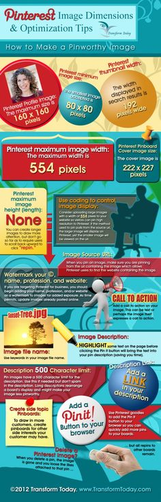 Pinterest image size cheat sheet #infographics
