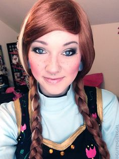 Disney frozen princess anna makeup | Powerful Mak-up Looks ...