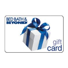 You can wain a $100 Bed Bath & Beyond Gift Card at | Reviews By Rachel
