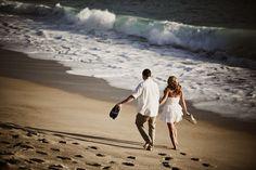 Beach Engagent Picture @Kari Jones Larson