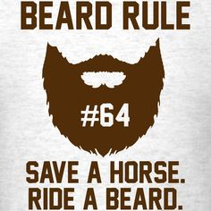Beard Rule #64 T-Shirt | Beard Rules