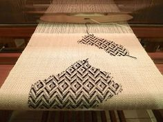 you can use any structure for Inlay weaving. This image uses a twill