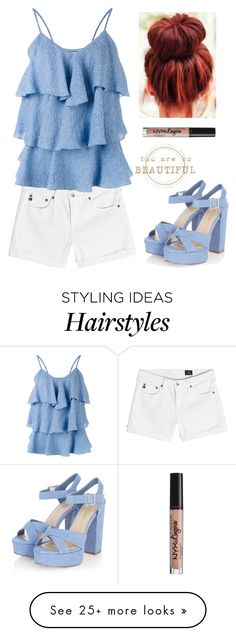 """""""Untitled #1072"""" by o-p-backe on Polyvore featuring AG Adriano Goldschmied, Paul & Joe and NYX"""