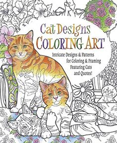 Cat Designs Coloring Art By Inc Product Concept Mfg