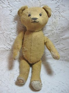 I love antique teddy bears!